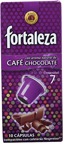 Café Fortaleza Café Aroma Chocolate - 10 cápsulas - [Pack de 4 ...
