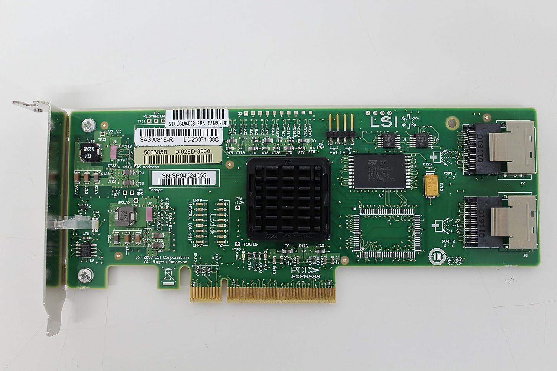 1 LSI LSI00301//9207-8I SGL LSI SAS 8 Ports internal SFF-8087 PCIe 3.0 RAID 0 1E /& 10E
