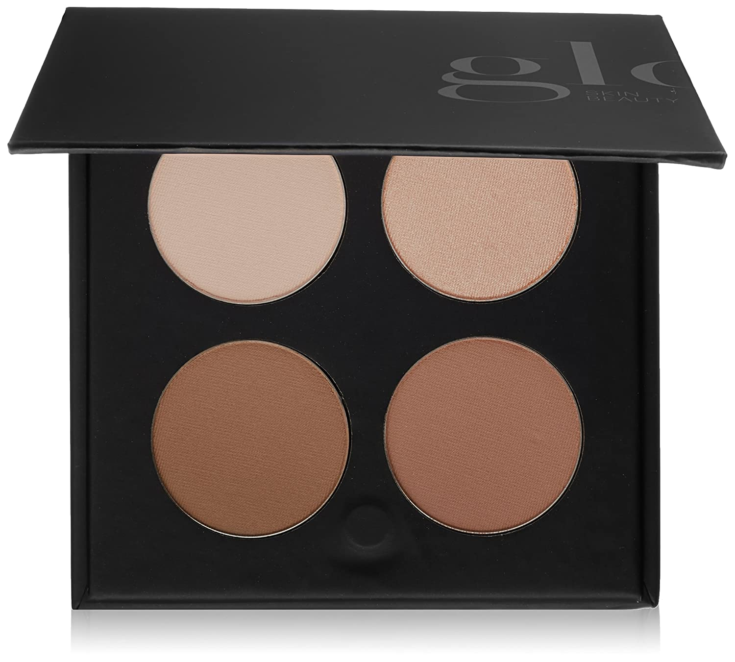 Glo Skin Beauty Contour Kit | Face Contour and Highlight Palette with Instructions | 2 Shade Options