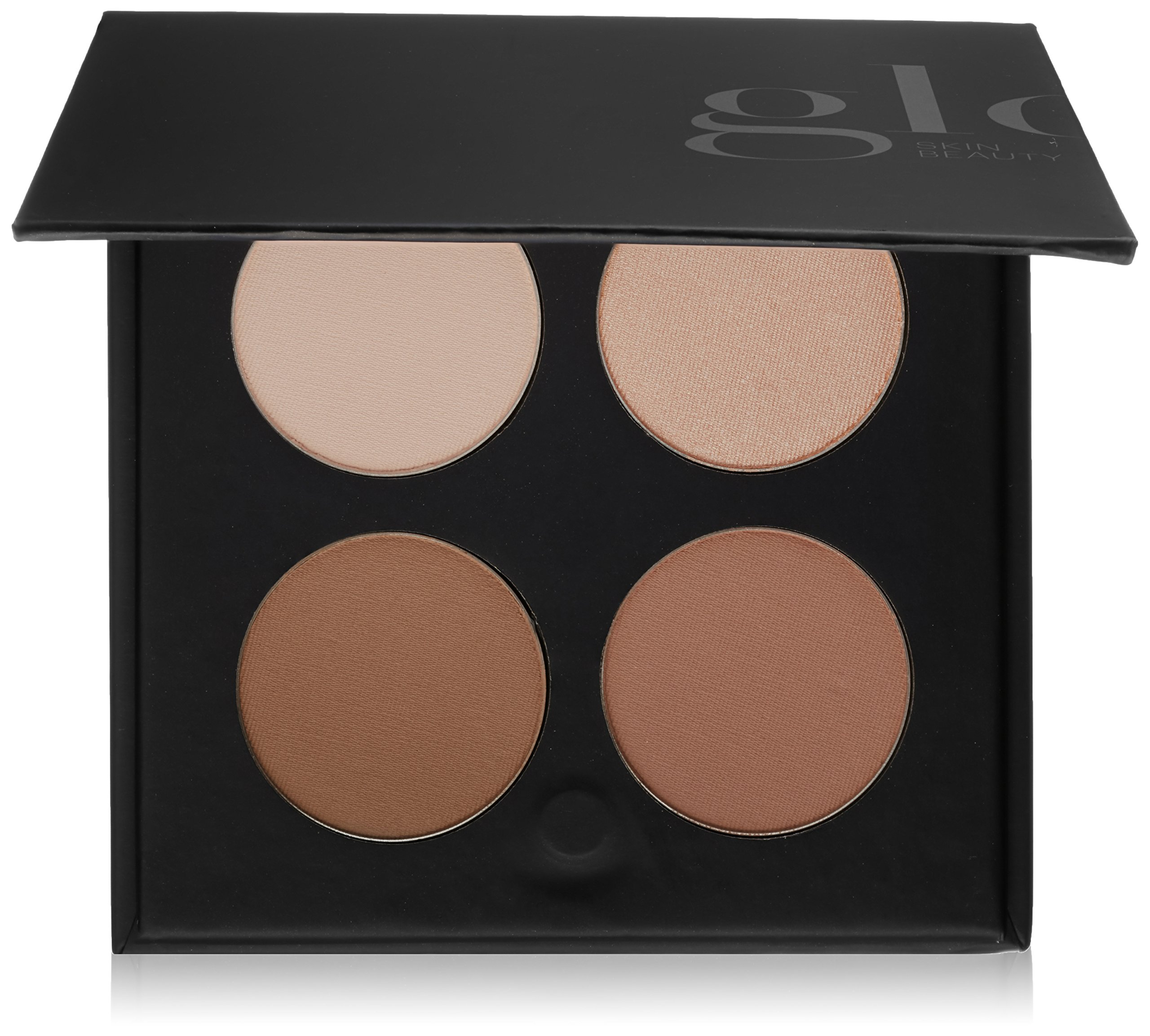 Glo Skin Beauty Contour Kit in Fair to Light | Face Contour and Highlight Palette with Instructions | 2 Shade Options
