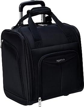 AmazonBasics - Equipaje para llevar bajo el asiento, Negro: Amazon ...