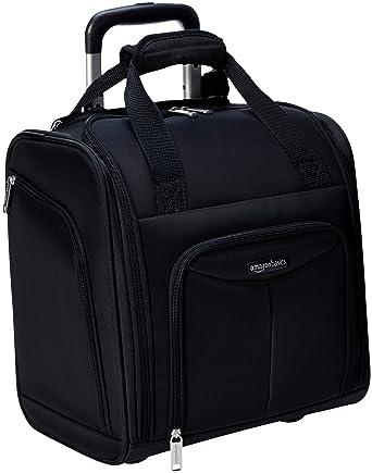 Amazon.com  AmazonBasics Underseat Luggage, Black cba6a047f1