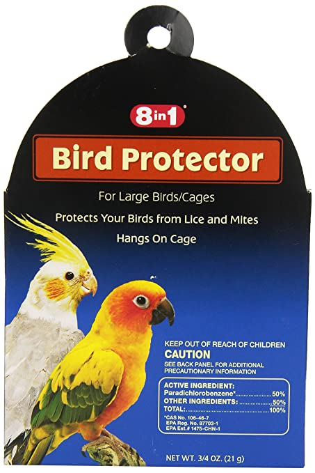 Pet Supplies ~ Lot Of 2 Lower Price with New Bird Protector 8 In 1 For Small Birds 0.5 Oz Bird Supplies