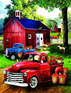 Apples for Sale 300 pc Jigsaw Puzzle by SunsOut