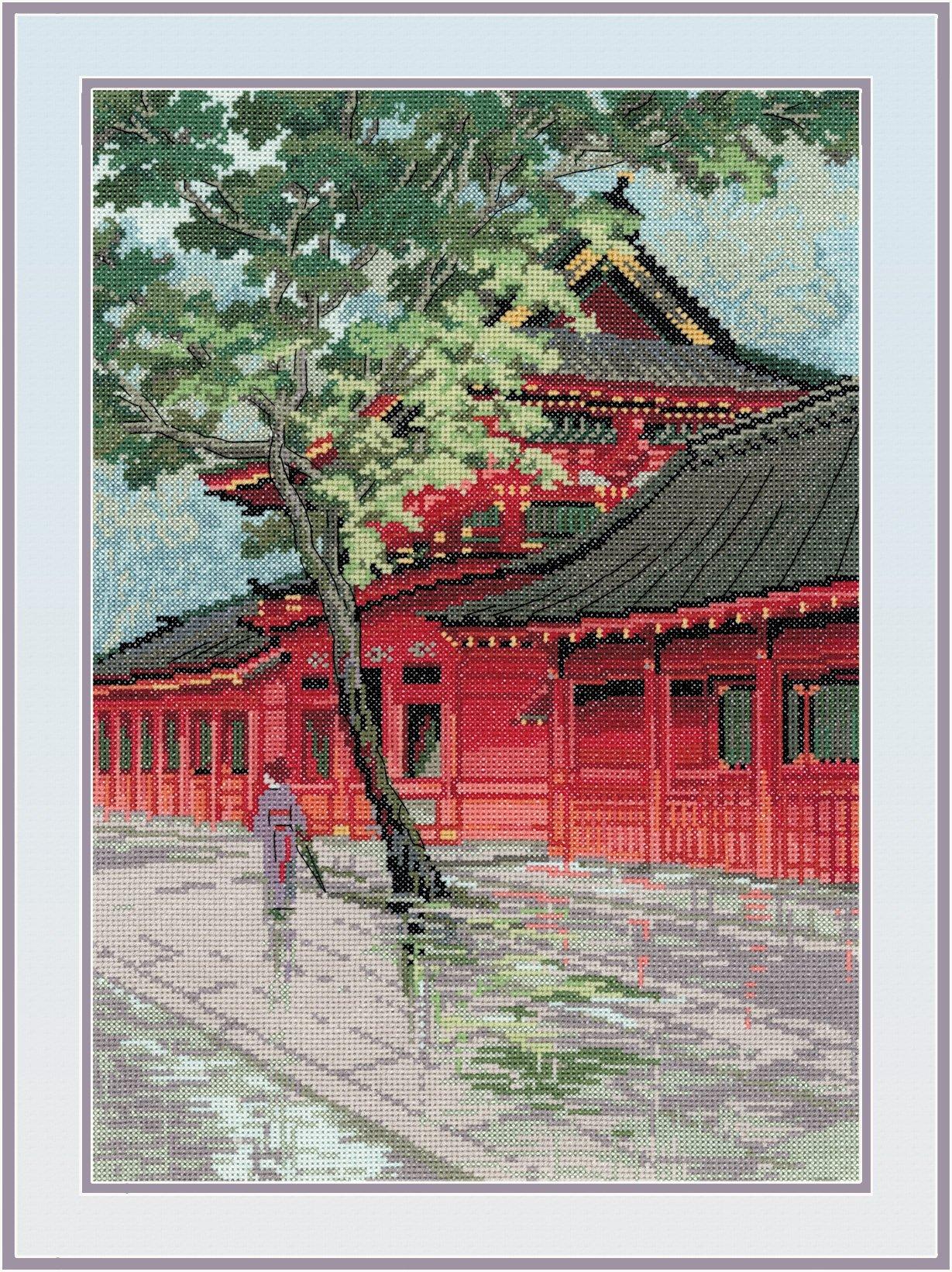 RIOLIS Red Pagoda, by Riolis by RIOLIS
