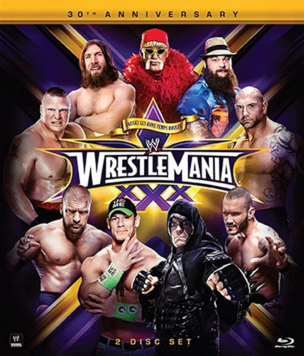 Wrestlemania 30 [Blu-ray] [Import] B00HRUQARI