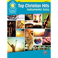 Top Christian Hits Instrumental Solos for Strings: Violin (Book & CD)