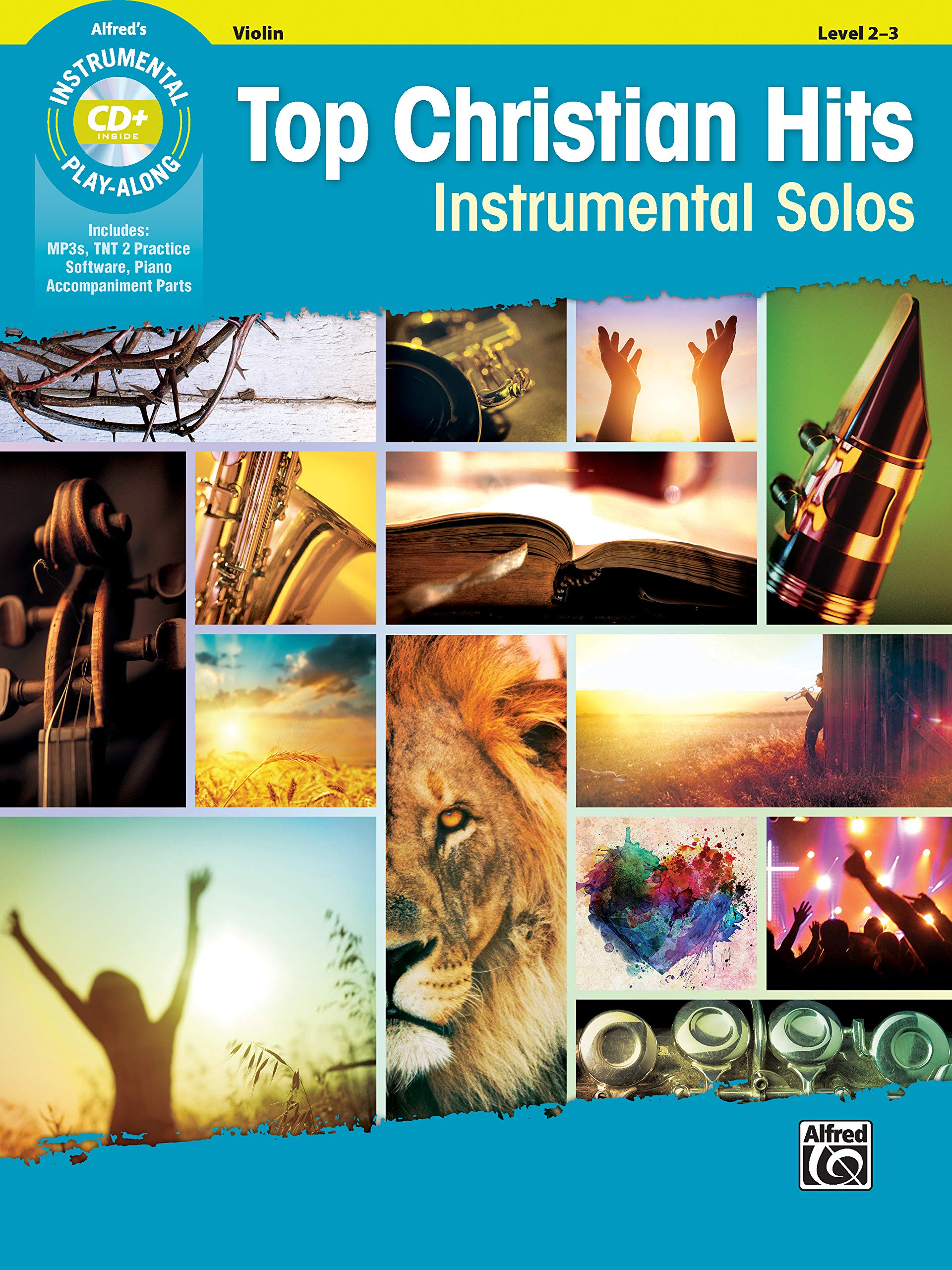Top Christian Hits Instrumental Solos For Strings  Violin Book And CD