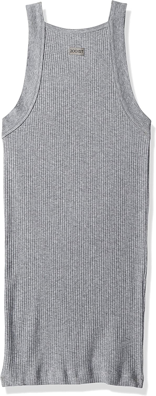 X 2 IST Mens Essential Cotton Square Cut Tank 2-Pack