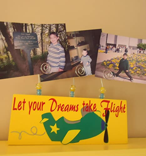 Amazon Let Your Dreams Take Flight Picture Frame With Wire