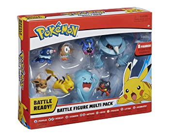 51109947dca69e Pokémon 96302 Toy, Mehrfarbig, 2/3-Inch
