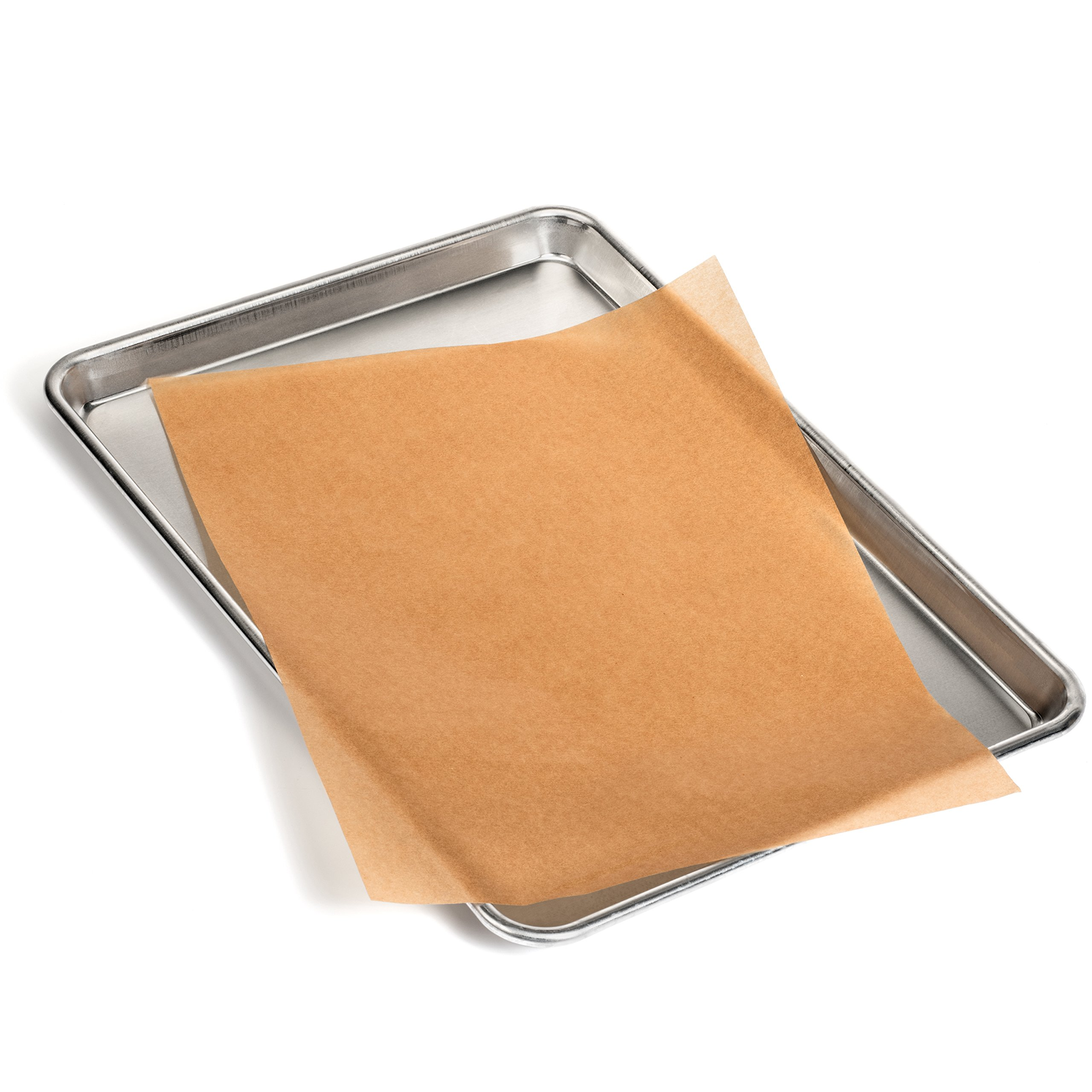 Zenlogy 12x16 (200 Pcs) Unbleached Parchment Paper Baking Sheets - Exact Fit for Your Half Sheet Pans - Perforated Box for Easy Storage - Non Toxic - Greaseproof by Zenlogy (Image #4)