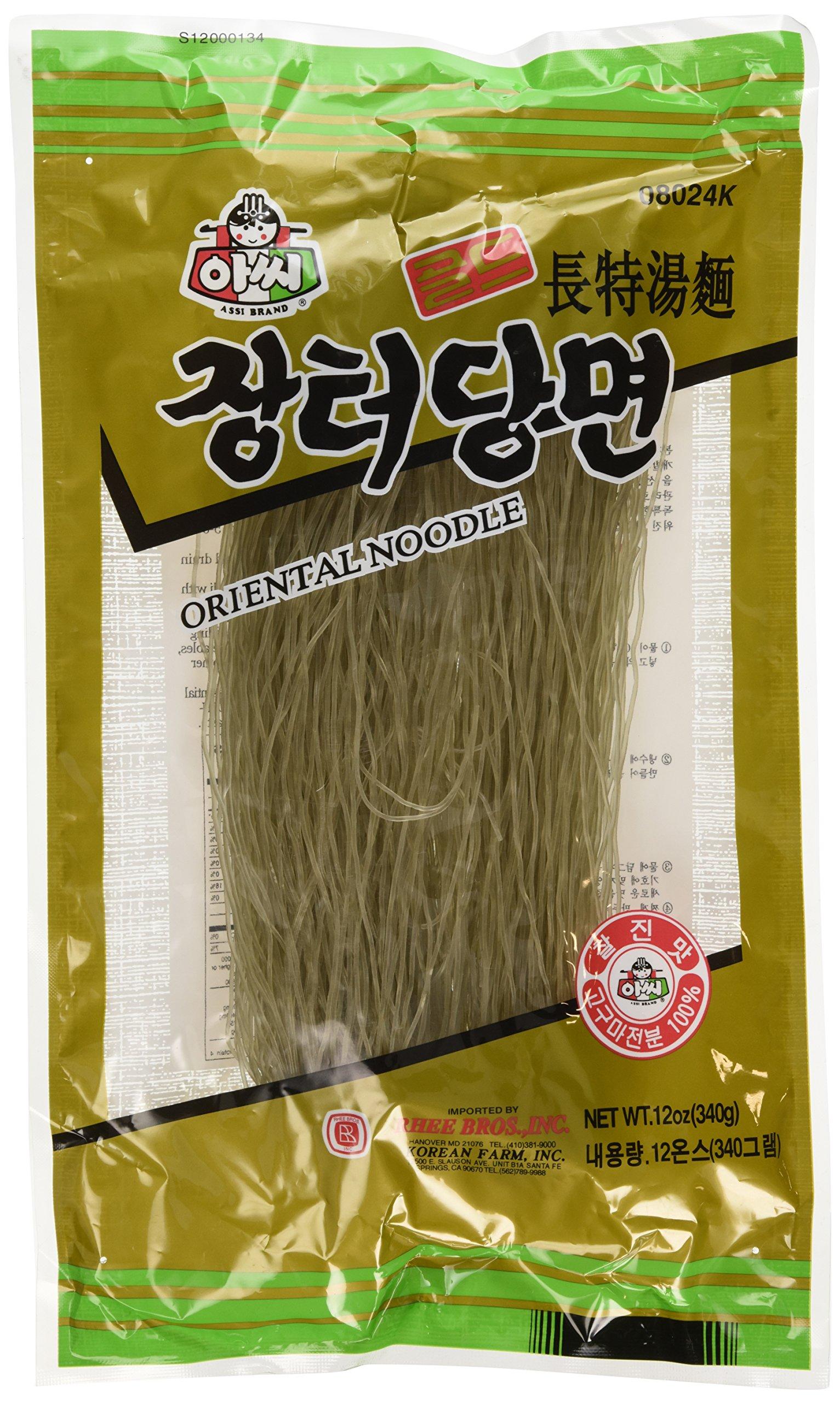 Ounces Of Glass Noodles