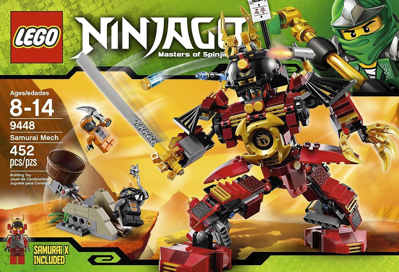 amazoncom lego ninjago 9448 samurai mech toys games