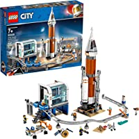LEGO City Space Deep Space Rocket and Launch Control 60228 Model Rocket Building Kit (837-Pieces)