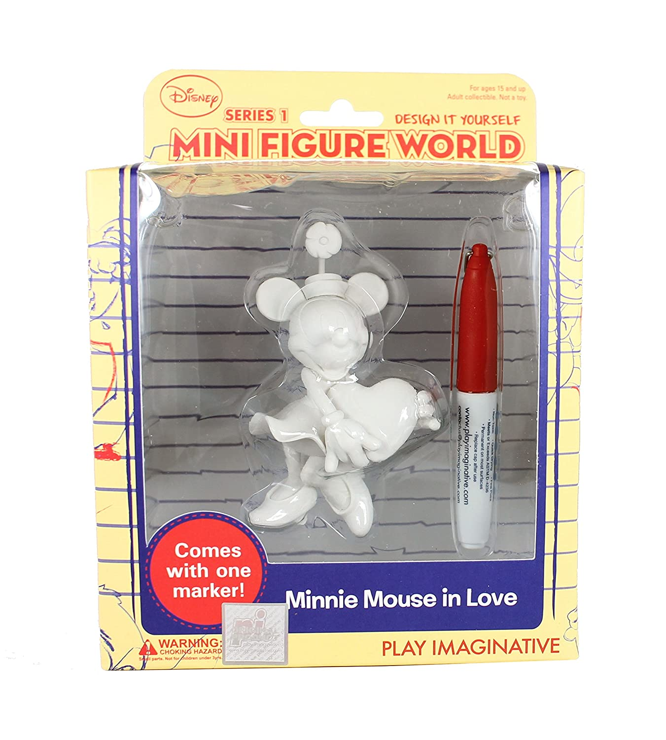 Minnie Mouse in Love Disney Design It Yourself Mini Figure World Series 1
