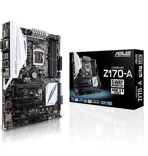 ASUS Z170-A Intel Skylake SLi/CrossFire ATX Motherboard - Black