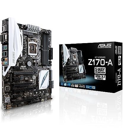 Asus Z170 A Carte Mere Intel Z170 Atx Socket 1151 Amazon Fr