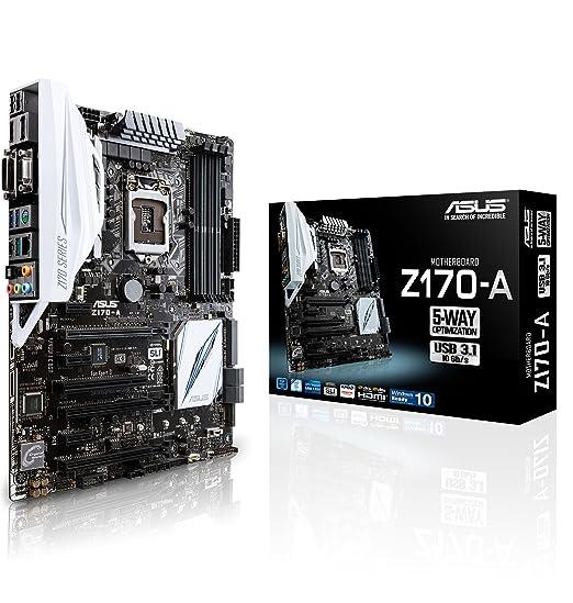 79 opinioni per Asus Z170-A Intel Scheda Madre, DDR4 1151, Nero