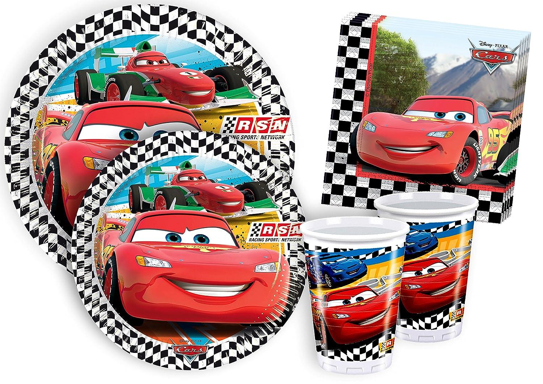 Ciao y4323 – Kit Día de tabla Cars 3, Rojo