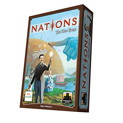 Stronghold Games Nations The Dice Game Board Games: Toys & Games