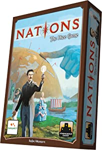 Stronghold Games Nations The Dice Game Board Games