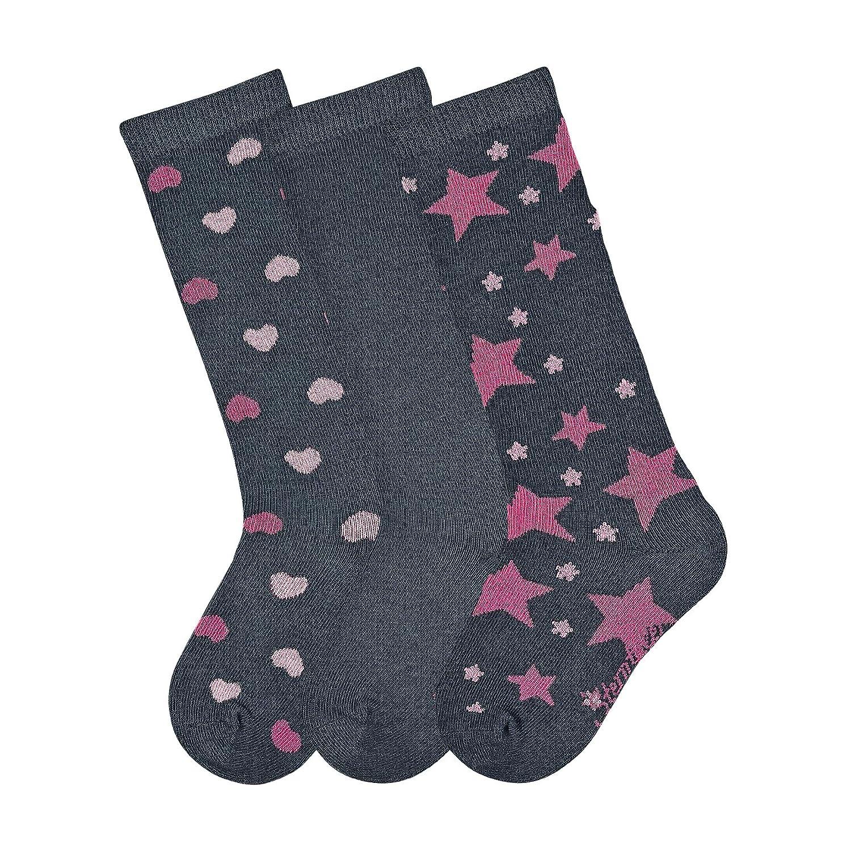 Sterntaler M/ädchen Socken Kniestr/ümpfe 3er-pack Herzen