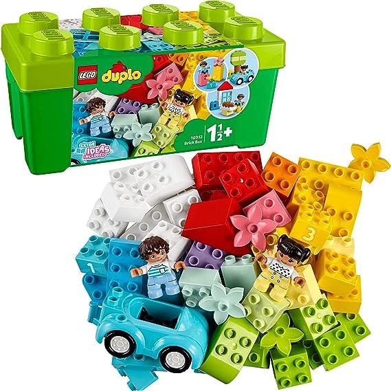 LEGO DUPLO Classic - Caja de Ladrillos, Juguete de Construcción Educativo, Incluye Bloques de Construcción de Colores y Caja de Almacenaje (10913) , color/modelo surtido: Amazon.es: Juguetes y juegos