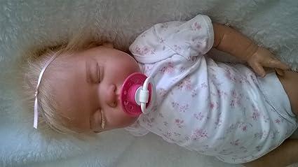 Amazon.es: Muñeca bebé rubia Molly, Heavy, 19 cm de largo ...