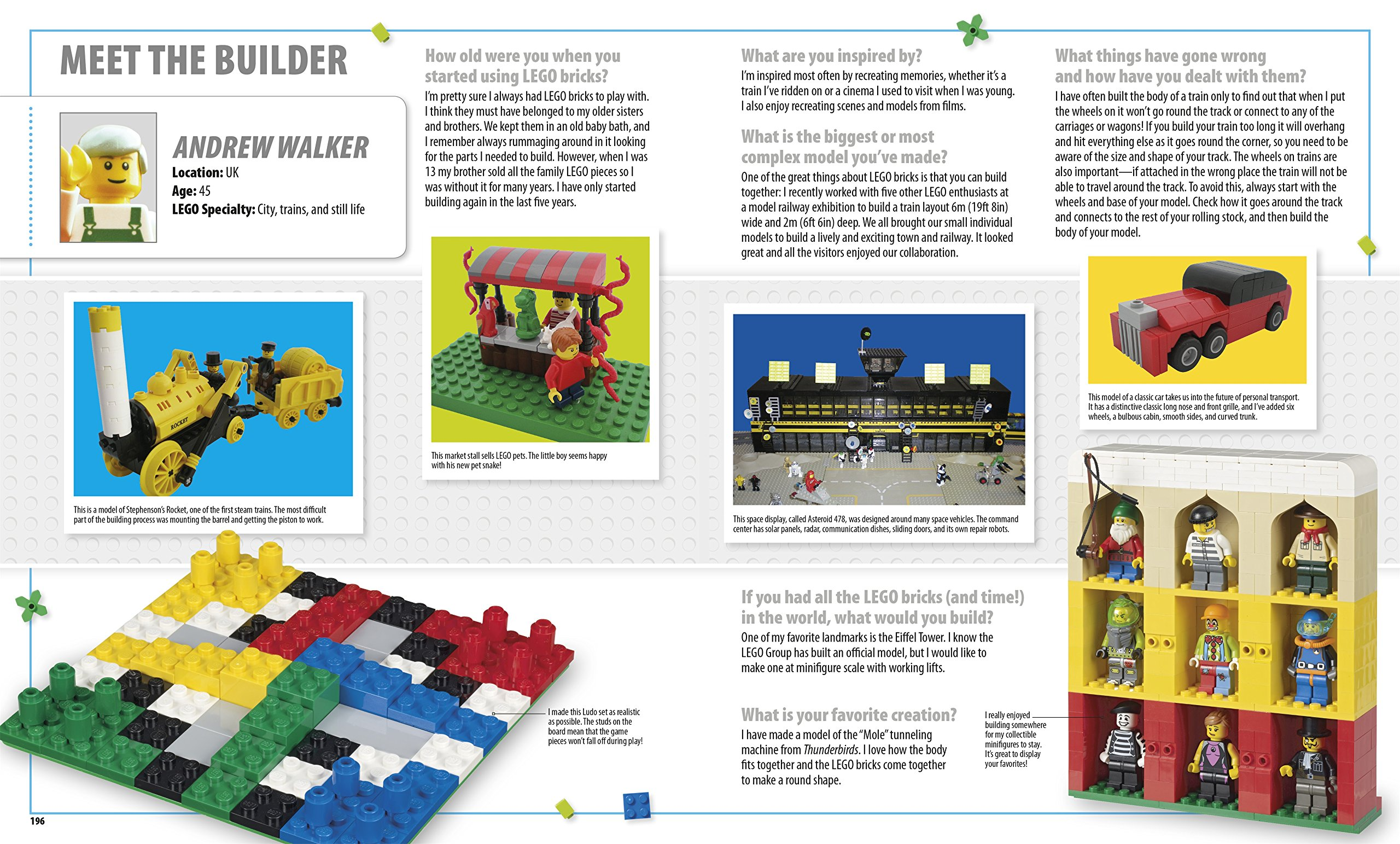 The LEGO® Ideas Book: You Can Build Anything!: Amazon.co.uk: Daniel ...