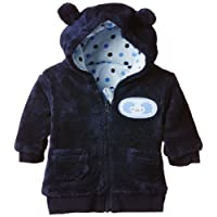 Twins Baby Boys Hooded Fleece Jacket