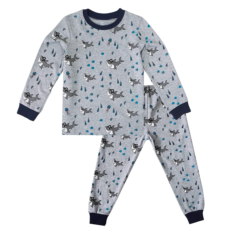 KISBINI Toddler Boys' Cartoon 100% Cotton Pajamas Pjs Pj Sets