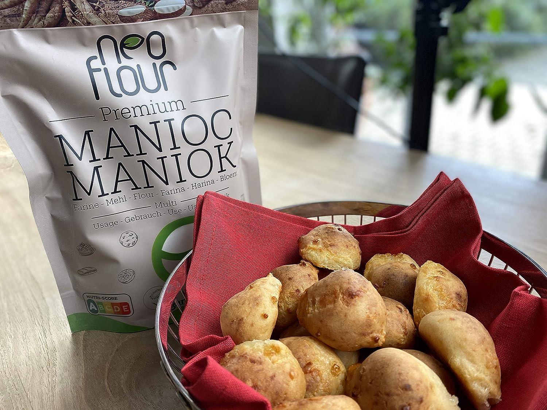 1.5 Kg Harina de yuca premium / Sin gluten / 100% natural / Sin conservantes / Sin aditivos / VEGAN / PALEO / para pastelería y cocina: Amazon.es: Alimentación y bebidas