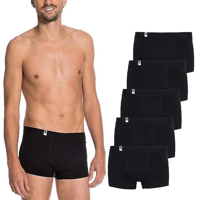 Maat Mons Pack de 5 Calzoncillos - Bóxer para Hombre - Cómoda Ropa Interior para Hombre