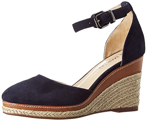 Jb Martin Zalto, Alpargatas para Mujer, Azul (Ch Vel V Florida Coloni Encre), 40 EU: Amazon.es: Zapatos y complementos