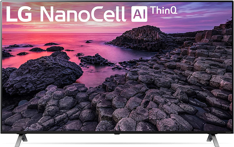 "LG 65NANO90UNA Alexa Built-In NaNO90 Series 65"" 4K Ultra HD Smart LED Nanocell TV (2020)"