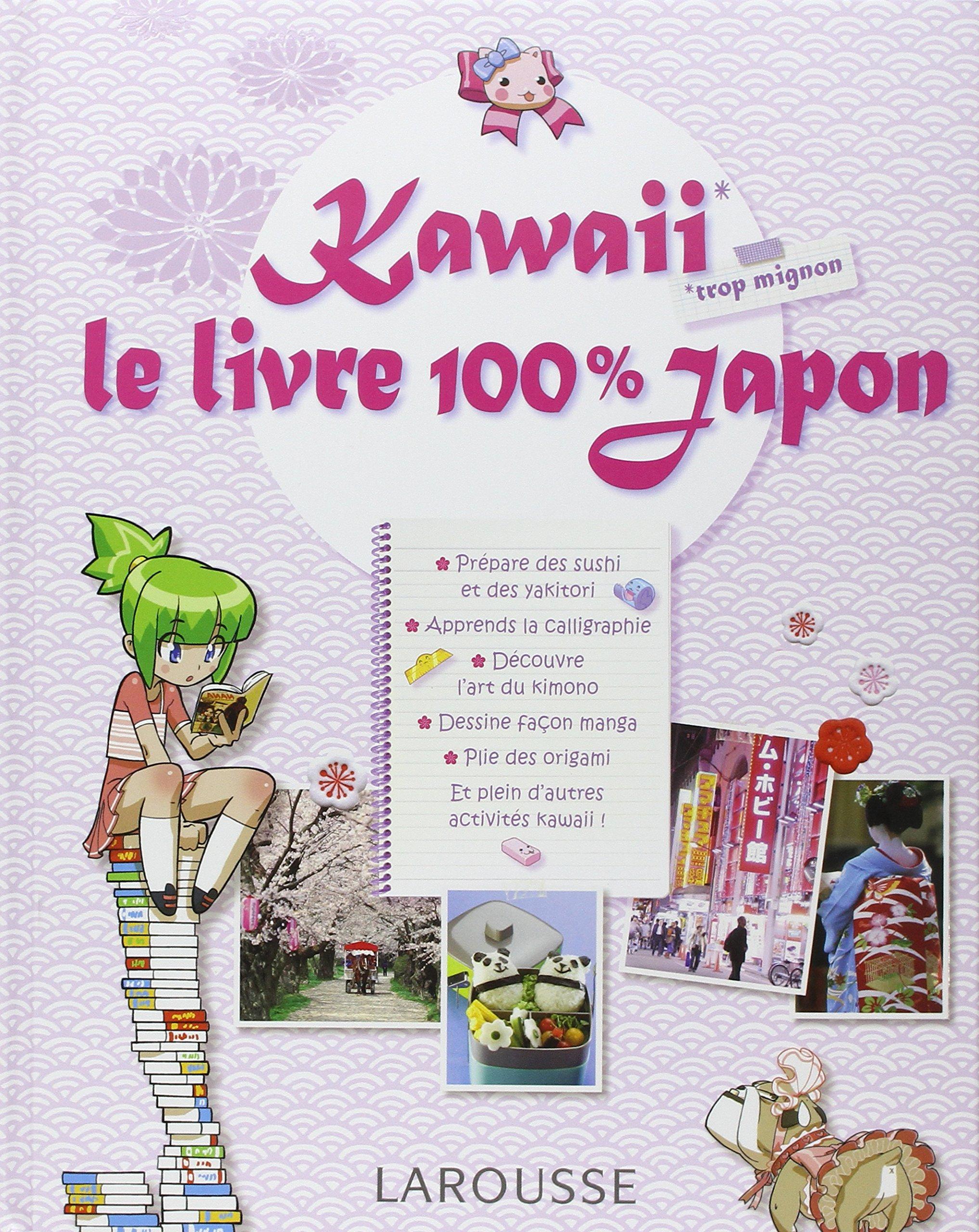 Amazon Fr Kawaii Le Livre 100 Japon Carla Cino Livres
