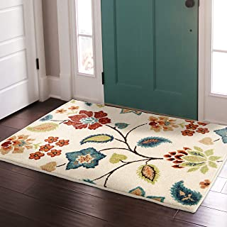 "product image for Orian Rugs Veranda Indoor/Outdoor Garden Chintz Runner Rug, 1'10"" x 7'5"", Ivory"