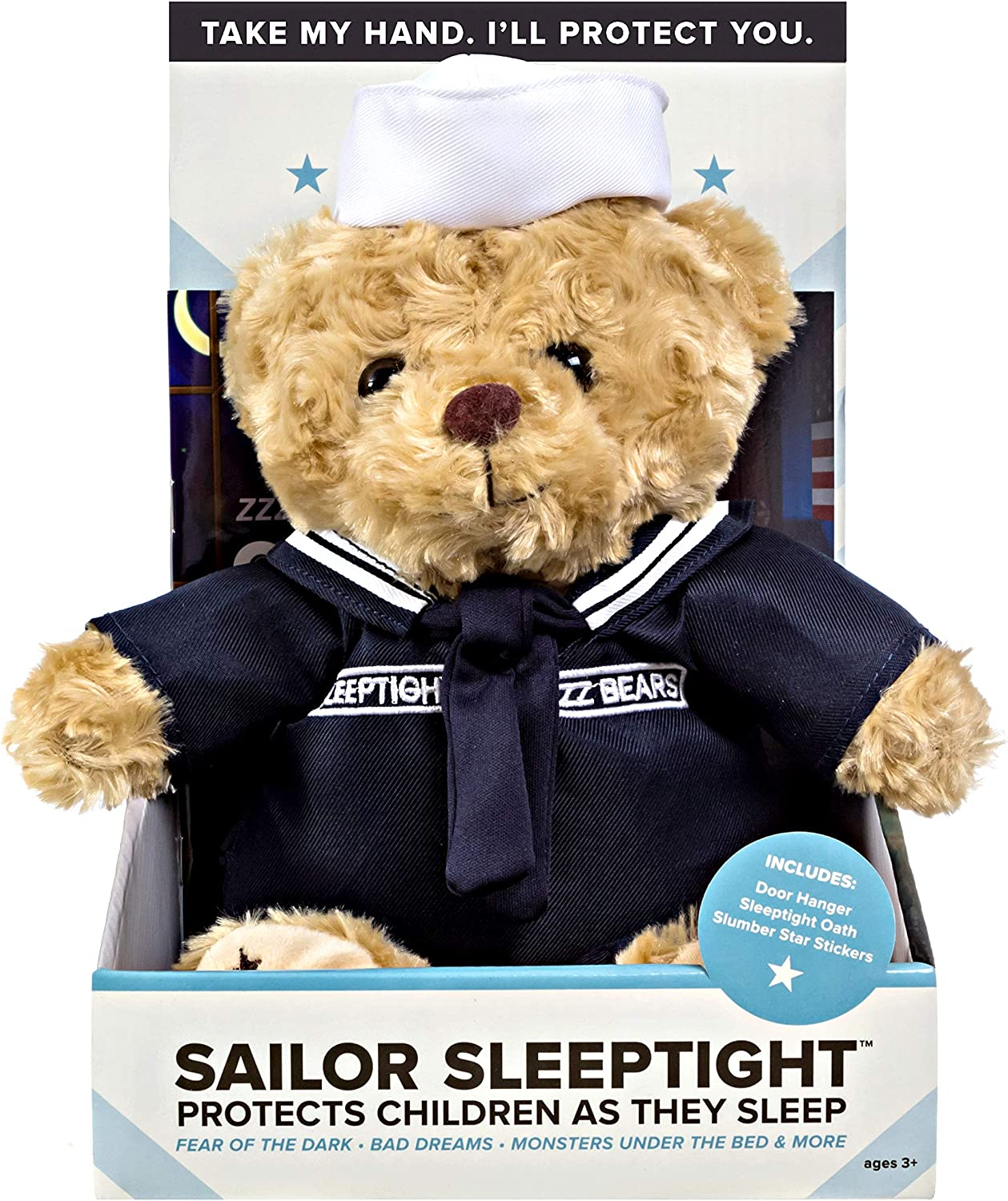 Police and Fireman Teddy Bears Plush Toys to Honor Protect and Cuddle at Bedtime ZZZ Bears Military Air Force Uniform