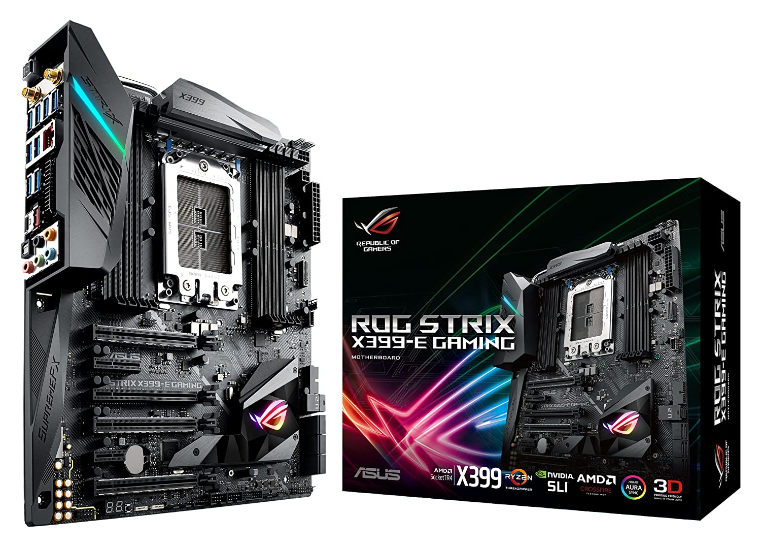 Amazon in: Buy ASUS ROG STRIX X399-E GAMING AMD Ryzen