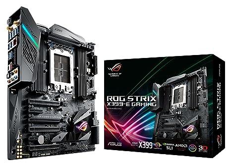 ASUS ROG Strix X399-E Gaming - Motherboard: Amazon.es ...