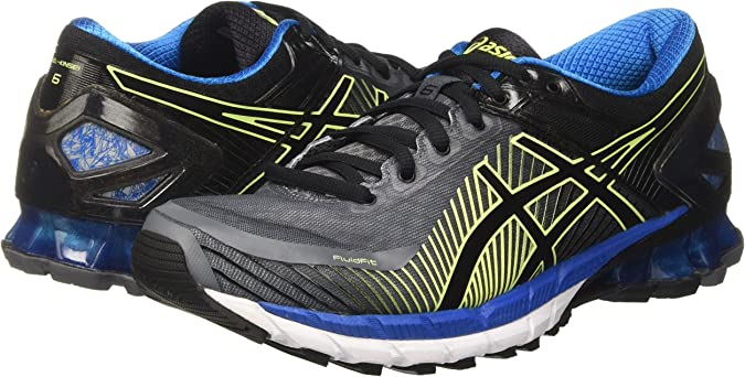Asics Gel-Kinsei 6, Zapatillas de Entrenamiento Hombre, Gris (Carbon / Black / Electric Blue), 39.5 EU: Amazon.es: Zapatos y complementos