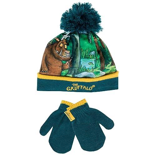 2abeac921e5 The Gruffalo Boys Gruffalo Hat and Gloves Set Ages 1 to 6 Years