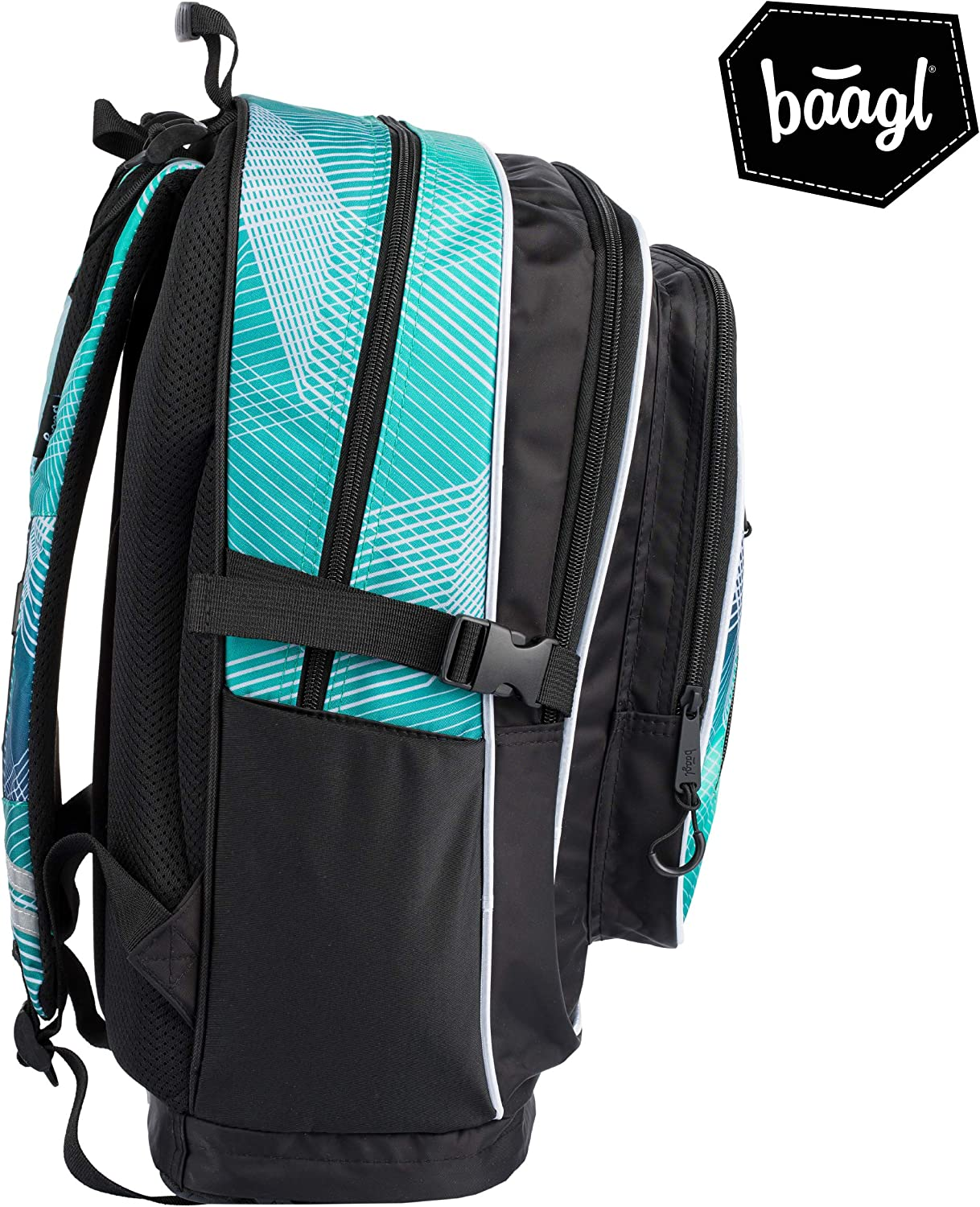 Cubic School Backpack Elementary and Middle School