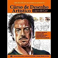 Guia Curso de Desenho Artístico - Rosto: com lápis de cor Ed.01 (Curso de Desenho Artístico Lápis de Cor)
