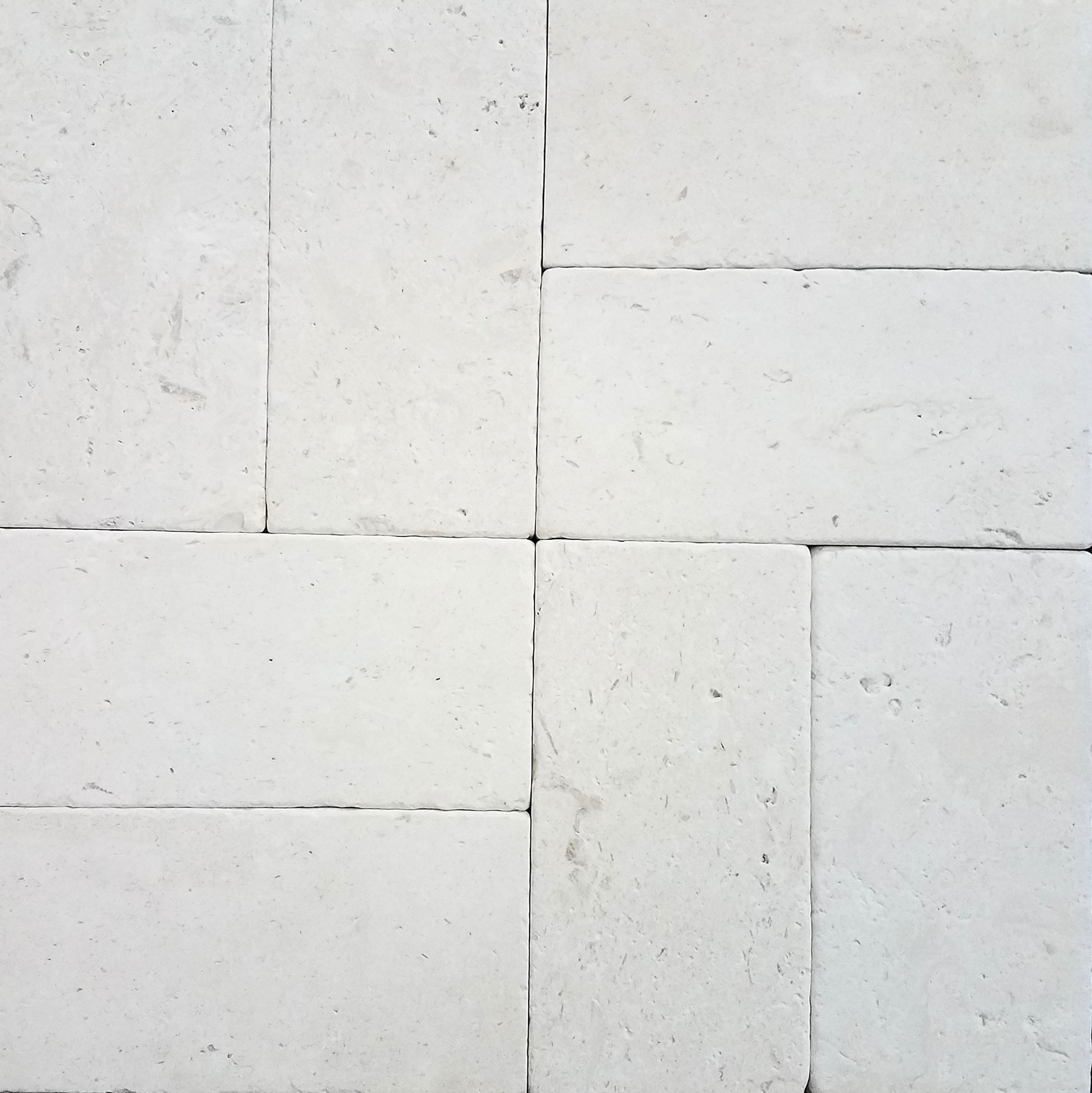300 pcs Natural Limestone Pavers 6x12 (Aqua Shell) 150 SQ.FT. Pool & Patio, Driveway, Backyard, Outdoors & Indoors by Stone Zone