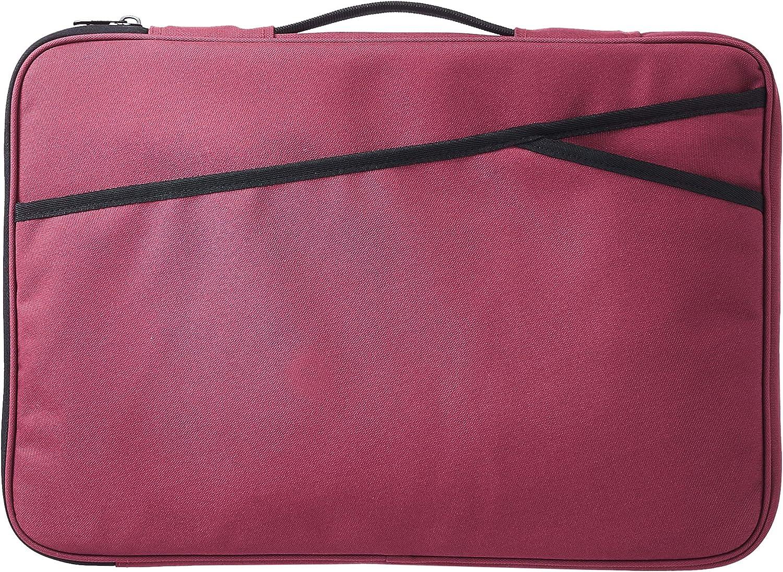 AmazonBasics Laptop Case Sleeve Bag - 17-Inch, Maroon
