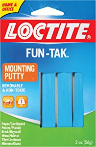 Loctite Fun-Tak Mounting Putty, 2-Ounce (1270884)
