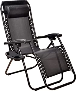BalanceFrom Adjustable Zero Gravity Lounge Chair Recliners for Patio
