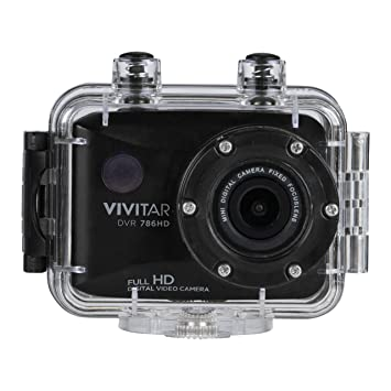 Amazon.com : Vivitar Full HD Action Camera, DVR786HD-BLK : Camera ...
